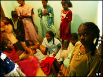 A relief centre for children orphaned by the tsunami in Nagapattinam, southern India