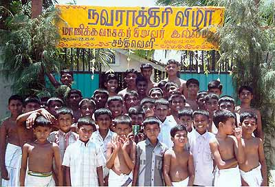 Boys of Manikkavasagar Boys Home